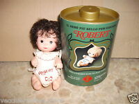 FURGA mini doll minidoll mini dolls CM 15 ROBERT stile borotalco Roberts bruna