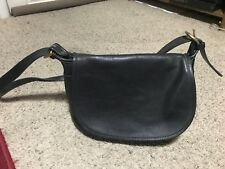 COACH Soho Fletcher Black Leather #4150 Purse Crossbody Bag Vintage