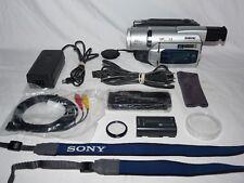 Sony DCR-TRV520 Digital8 HI8 8mm Video8 HI 8 Camcorder VCR Player Video Transfer