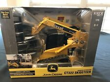 Ertl John Deere CT322 Skid Steer High Detail Construction 1/16 Diecast