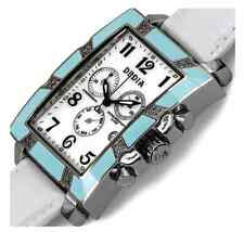 DEDIA Lily MR Women's Diamond/ Mother-of-Pearl Day/Date Chronograph List- $1,800