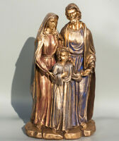 Holy Family Statue Religious Figurine Jesus Mary Joseph Sculpture Christian Gift
