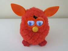 TESTED RARE HASBRO FURBY 2012 Red Orange INTERACTIVE Electronic Pet Talking Toy