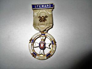 Silver Gilt Royal Masonic Institution for Girls 1936 Steward Jewel