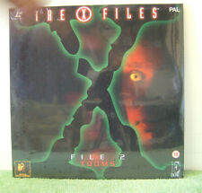 X-files 2 Tooms PAL Laser Disc TV Series David Duchovny Gillian Anderson Ee1146
