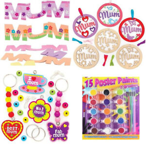 Mothers Day Craft Kit For Children 3 Crafts Included