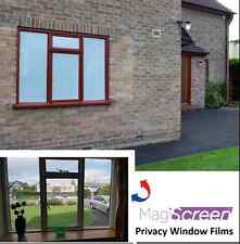 White one-way vision window film for daytime privacy