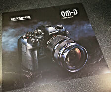 Launch poster for Olympus OM-D E-M1 Mk II, 30x27cm - collectible !
