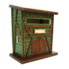 Cassetta postale in legno da esterno, buca delle lettere in stile alsaziano
