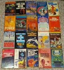 Lot of 20 - Science Fiction Books - Paperbacks - Various Authors - G+/Ex