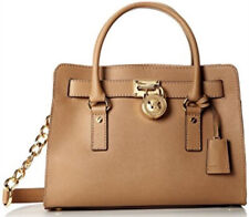 Michael Kors Purse Hamilton Saffiano Leather Bag Peanut/Tan Color WOW!!!