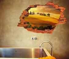 3D Scenery Setting Sun Home Room Removable Wall Sticker Decal Decoration