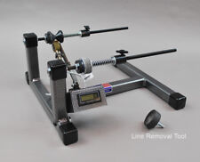 Super Spooler Line Holder/Winder + Digital Line Counter Silver/Black