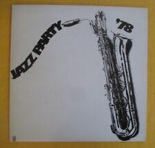 Jazz Party, 1978 Australian jazz Lp- Storyville All Stars,Penny Eames +