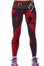 DC Comics HARLEY QUINN SPORT Yoga Pants OSFM Leggings 1ST QUALITY! Same Day Ship