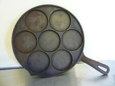 Plett Pan Swedish cast iron pancake Made in USA