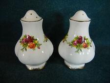 "Royal Albert Old Country Roses Montrose 3"" Salt and Pepper Shaker Set - England"