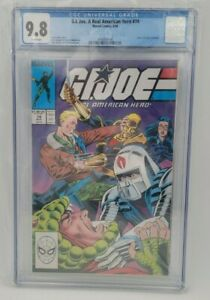 GI Joe A Real American Hero 74, Marvel 1988 - CGC 9.8 White Pages - Classic!