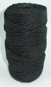 Catahoula 12348 Twisted Tarred Nylon Twine #48 1LB Spool 430 Lb. Test 23565