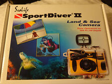 SEALIFE SPORT DIVER 35MM FILM UNDERWATER CAMERA~COATED F5.6 1/125 LENS mark ii