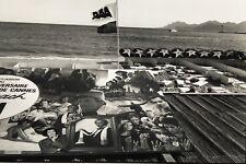 Françoise Huguier - Plage Festival Cannes 1987 - Vintage Photography - Depardieu