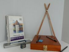 artist's proportional divider ,scale divider, drawing tool, 14 inch American Oak