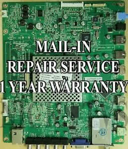 Mail-in Repair Service For Vizio M3D550KD M3D550KDE Main Board CBPFTXCCB02K001
