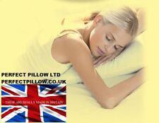 """Organic sarrasin en osier tressé naturel sommeil oreiller x plus grande taille 20""""X 30"""", british made"""