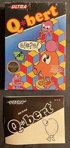 Q Bert Nintendo NES (1989) Box And Manuel Only Authentic Original
