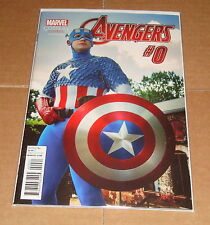 2015 Avengers #0 Cosplay Variant Edition 1st Print