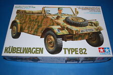 Kubelwagen Type 82  -1/35 Scale Plastic Model Kit Tamiya  35213