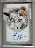 2017 Topps Transcendent Auto BRYCE HARPER Gold Framed 05/15 AUTOGRAPH #TCA-BH