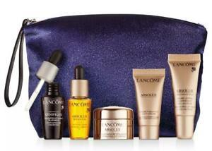 6 Pcs Lancôme Absolue Revitalizing Soft Cream, Eye Cream, Lip Balm, Génifique...