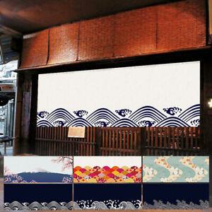 Noren Porte Rideau Suspendu Horizontal Valance Japonais Barre Maison Décor Rétro