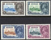 Seychelles1935 Silver Jubilee set mint SG128/129/130/131 (4)