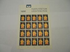 Liechtenstein. Patron Saints. 1968. Scott 441 Sheet MNH  Saint Lucius