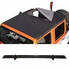 Rampage Combo Brief & Topper and Header Channel Set 07-17 4dr Jeep Wrangler JK