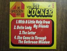 JOE COCKER DOUBLE 45 TOURS GERMANY BEATLES SHE CAME IN