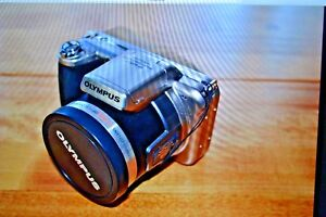 Olympus SP series SP-800UZ 14.0MP Digital Camera - Silver; 30x optical zoom