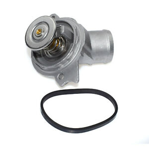 FOR Mercedes-Benz M112 M113 CL500 Engine Coolant Thermostat W/ Seal 1122030275