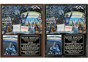 Kevin Harvick 2018 Consumers Energy 400 Champion Photo Plaque
