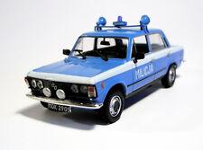 Fiat 125P MO Milicja - 1/43 - DeAgostini - Cult Cars of PRL 'S'