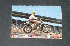 #241 BROWN CZ 250 CC MOTO-CROSS AUTO MOTO SPORT 1976 INTERIMAGE PANINI