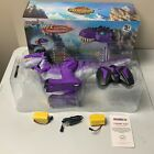 Gilobaby Purple Lights And Sound Remote Control RC Electronic Tyrannosaurus Toys