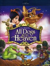 ALL DOGS GO TO HEAVEN animated movie BLU RAY  - Sealed Region free for UK
