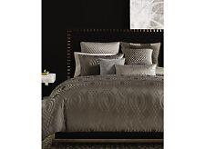 Hotel Collection Dimensions Full Queen Duvet Comforter Cover Brown Metallic