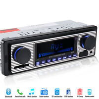 Bluetooth Handfree Car In-Dash Radio MP3 Player Stereo FM USB AUX 1Din 4-Channel