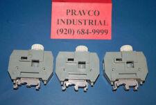 Lot of 3 Entrelec MB10/24.SF Terminal Fuse Block 300Volt 15Amp Max 18-6AWG