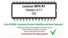 Lexicon MPX R1 - Version 2.11 Firmware Update Upgrade Eprom [Latest OS]