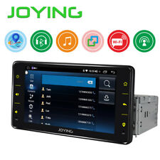 JOYING Single Din Android Car Radio Audio Stereo 6.2 Inch Mirror Link Bluetooth